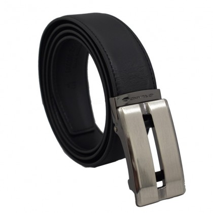 Orlando Men's Autolock Leather Belt Black(RL02004D171)