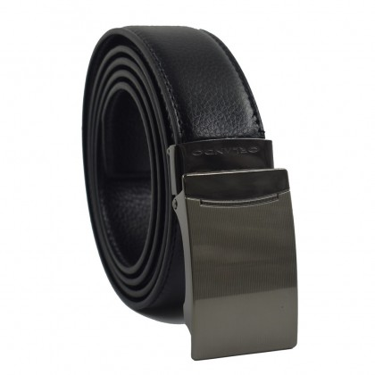 Orlando Men's Autolock Leather Belt Black(RL2006B172)