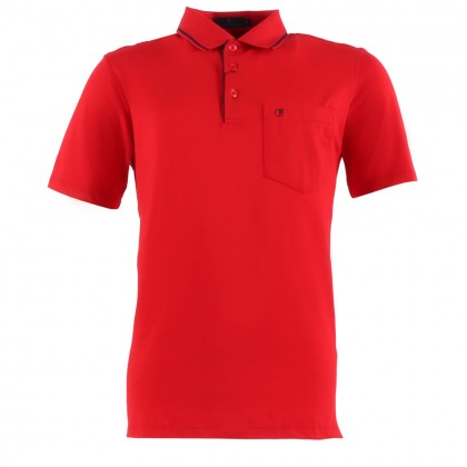 ORLANDO Men Polo Tee Shirt Plain [Ready Stock]